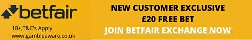 betfair sign up offer