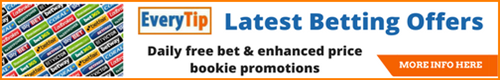 Everytips latest betting offers section