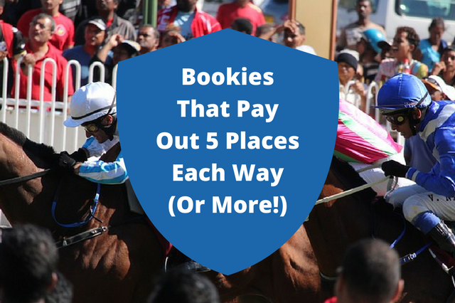 Which Bookies Pay 5 Places Each Way?