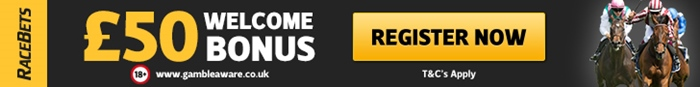 RaceBets new account offer for horse racing fans 50