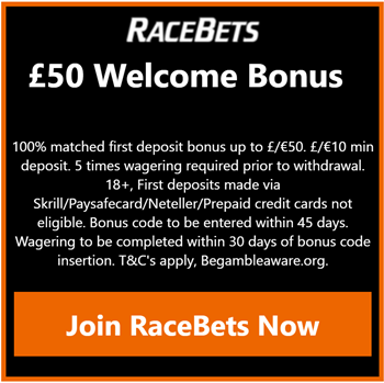 racebets sign up offer