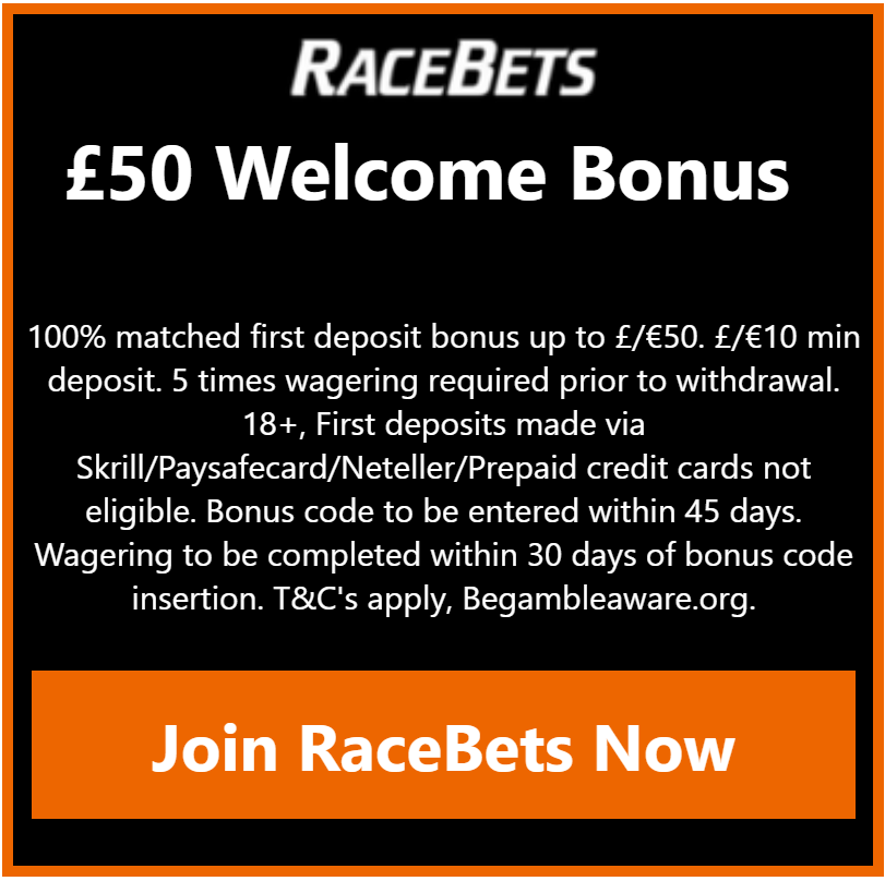 racebets new welcome offer