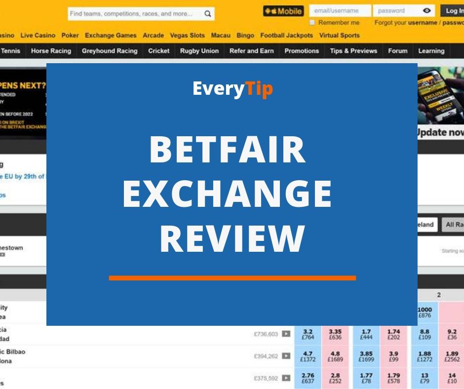 Betfair Exchange Review (2019) - The Best Betting Exchange