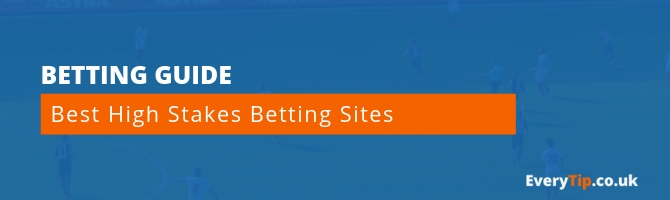 Best High Stakes Betting Sites For High Rollers and VIPs