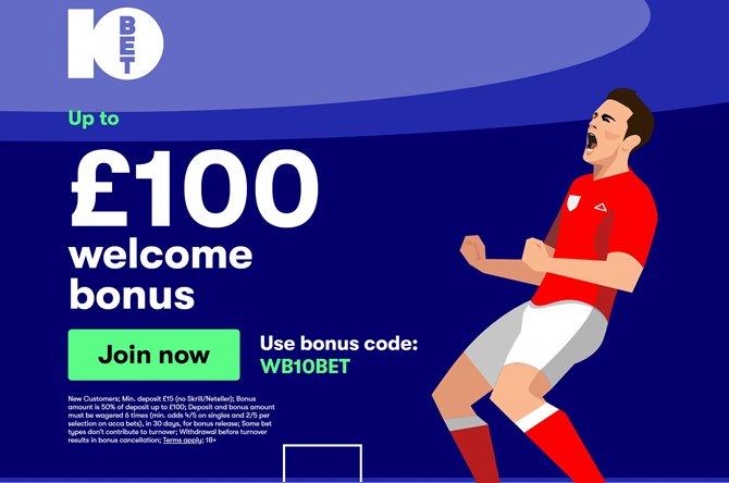 10bet new offer