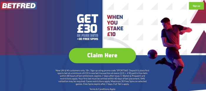 betfred newest offer